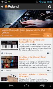 Roland Connect- screenshot thumbnail