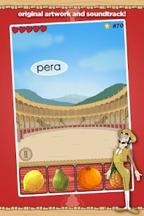 Learn Spanish Vocab Game Pro- screenshot thumbnail