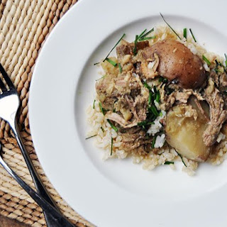 Slow Cooker Coconut & Green Curry Pork.