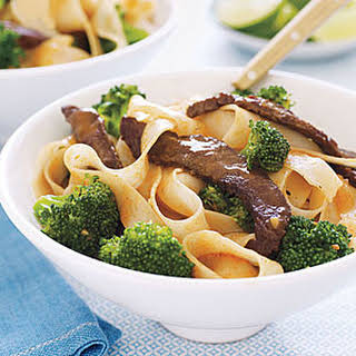 Stir-Fried Beef with Noodles.