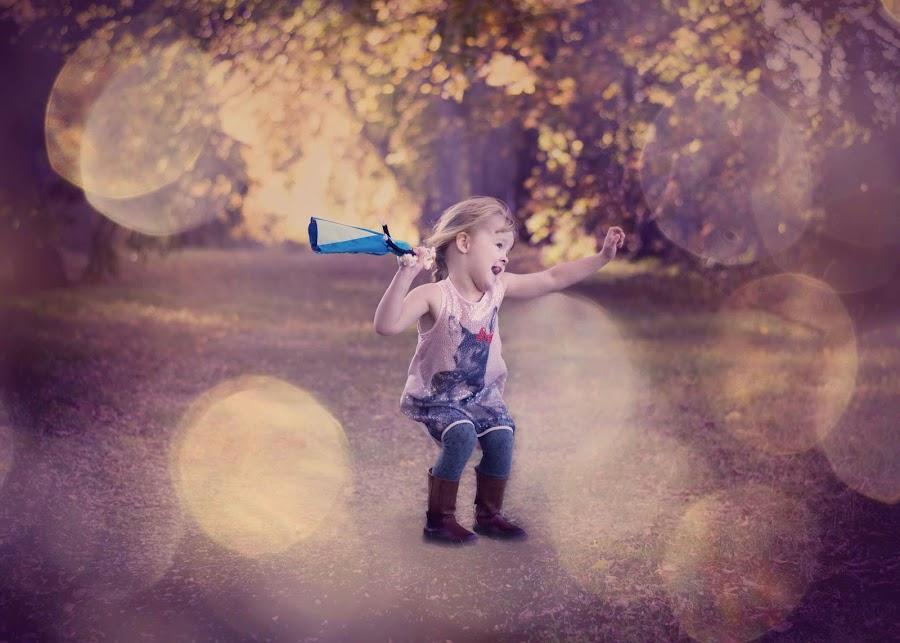 Dancing with Elsa by Karena Dyck - Babies & Children Children Candids