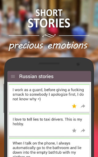 Russian Stories: Life Tales