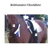 Reitturnier-Checkliste