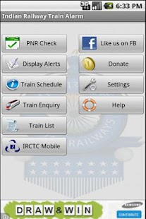 Indian Railway Train Alarm- screenshot thumbnail