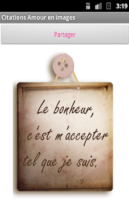 Images d'amour et citations - screenshot thumbnail
