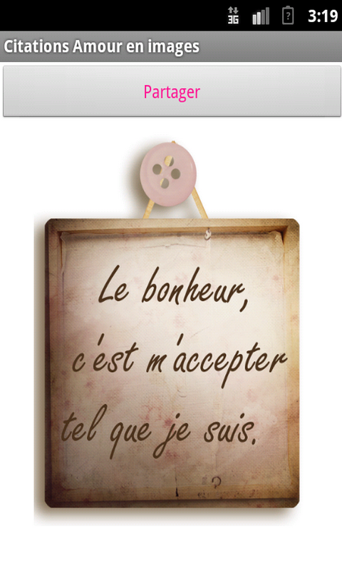 Images d'amour et citations - screenshot