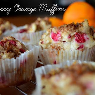 Cranberry Orange Muffins {Gluten Free & Vegan}