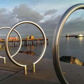 Sea rings by Gene Richardson - Artistic Objects Other Objects (  )