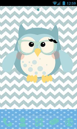 Owl's Baby Blues Go Launcher