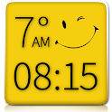 Smiley Clock Weather Widget icon