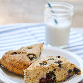 Grain-Free Lemon & Blueberry Scones.