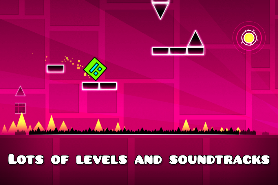 Geometry Dash Mod Apk (Unlimited Money/Diamonds) Unlocked All 3