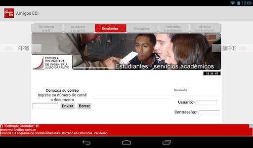 ECI App Aplicaciones (apk) descarga gratuita para Android/PC/Windows screenshot