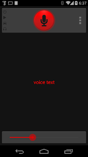 Voice Text - screenshot thumbnail