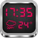 Night Clock Weather Widget icon