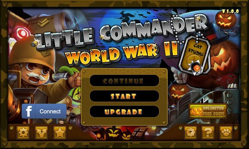 Little Commander WW2 Halloween  screenshots EasyGameCheats.pro 1