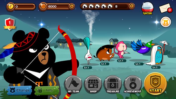 Oh Bear ! Fight v1.1.0 [Mod Money]