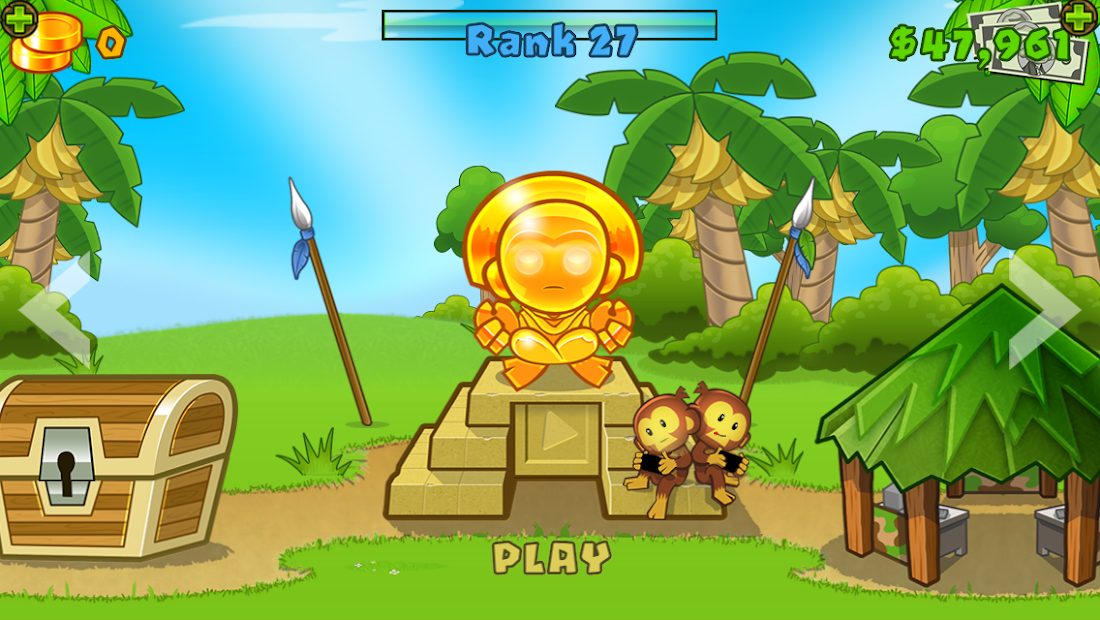 Bloons TD 5 Android App Screenshot