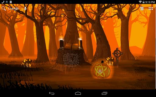 Spirit Wood - Samhain LWP