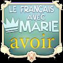 マリーのフランス語-avoir icon