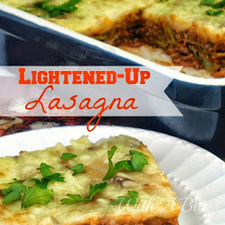 LIGHTENED-UP LASAGNA