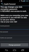 Screenshot of Cryptfs Password