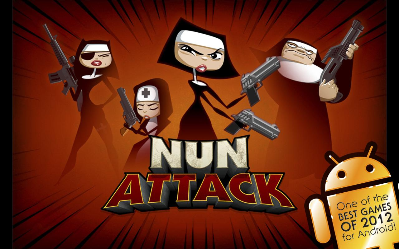Nun Attack- screenshot