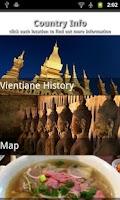 Screenshot of Laos Travel Guide