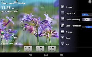 Screenshot of 9s-Weather HD
