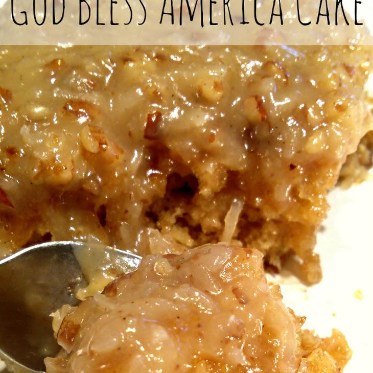 God Bless America Cake {Aka Cajun Cake} Recipe