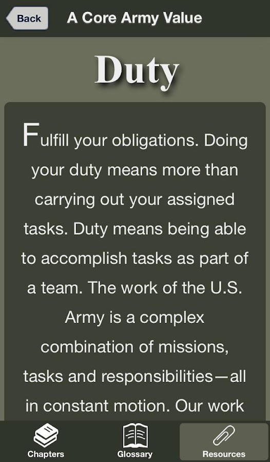 USAREC Family Strong Guide- screenshot