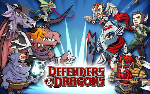 DEFENDERS & DRAGONS (Unlimited Coins/Glu Credits)