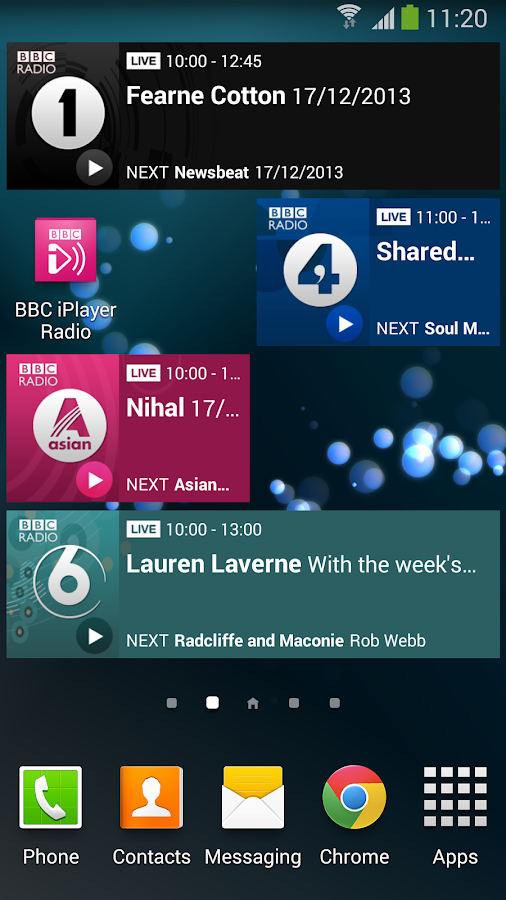 BBC iPlayer Radio - screenshot