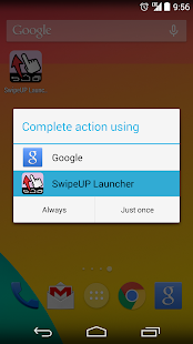 SwipeUP Launcher - náhled