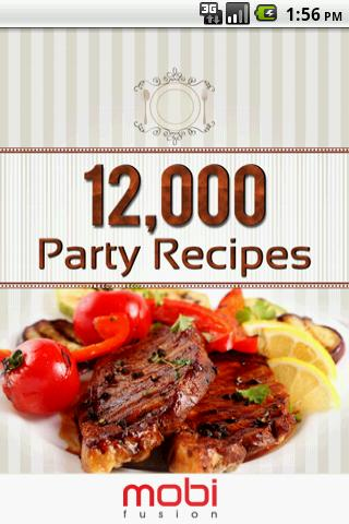 12 000+ Recipes: Party Planner