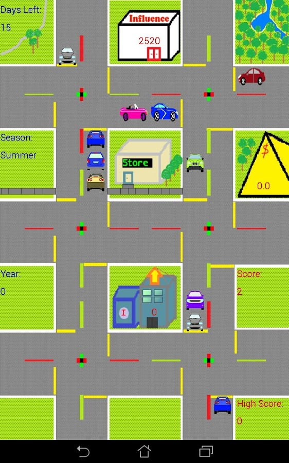 Control The Traffic Free- screenshot