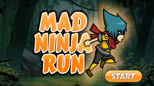 Mad Ninja Run