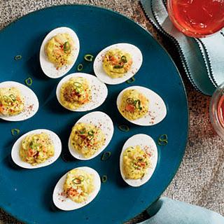 Shrimp RéMoulade Deviled Eggs Recipe