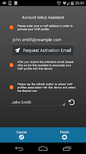 VoiceMailTel Mobile SIP Client- screenshot thumbnail