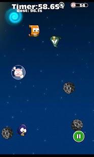 Piggies & Birds Space screenshot