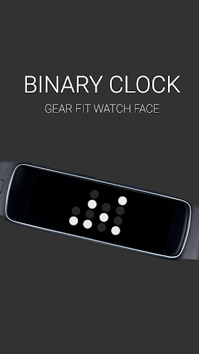 Binary Clock for Gear Fit