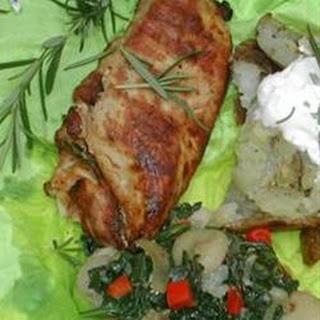 Cajun Barbecued Chicken.