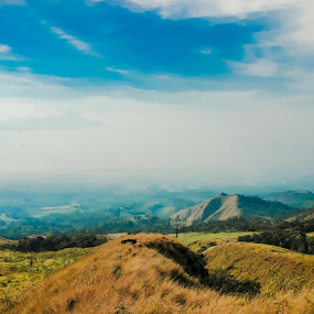 little view of indonesia by Nur Saputra - Landscapes Mountains & Hills