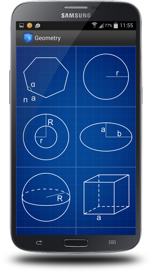 Geometry Calculator- screenshot