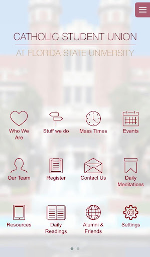 【免費生活App】Catholic Student Union at FSU-APP點子