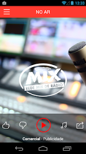 Rádio Mix: miniatura da captura de tela