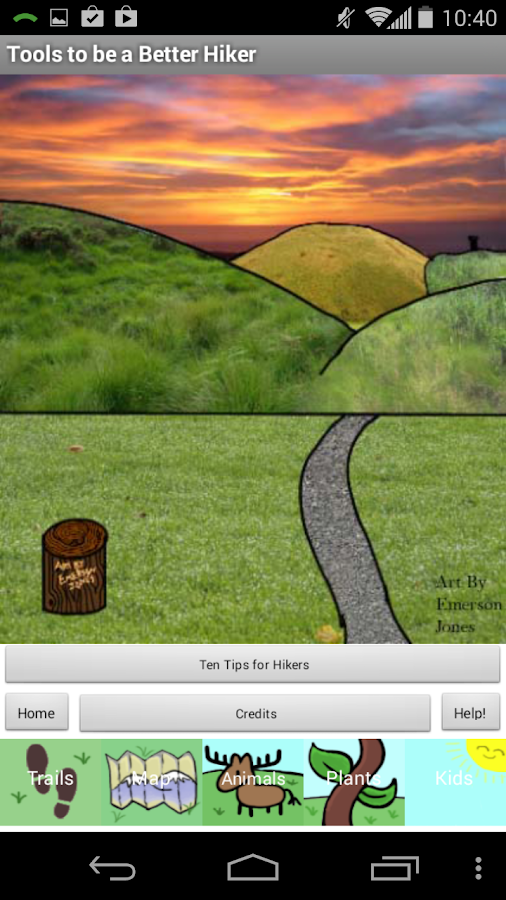 HikeAbout- screenshot