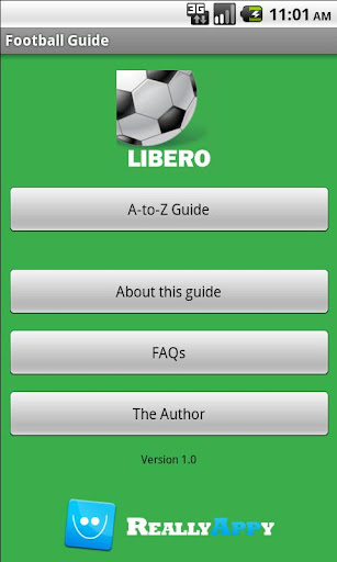 Libero Football Guide