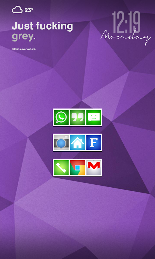 Prime Squared Icon Pack - screenshot