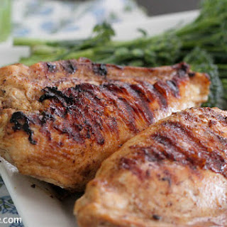 Cumin, Lime and Garlic Grilled Chicken.